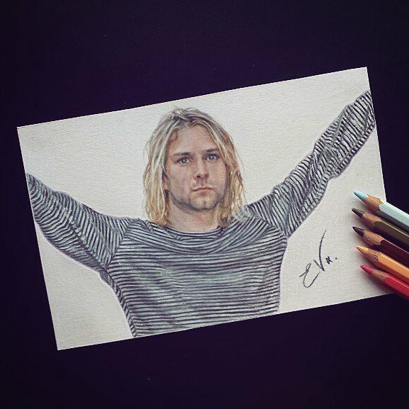 Kurt Cobain, Nirvana by 1DBeatle